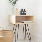 Mesitas de noche de madera: Consejos para elegir la que más encaja con tu estilo decorativo