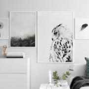 Como decorar con láminas