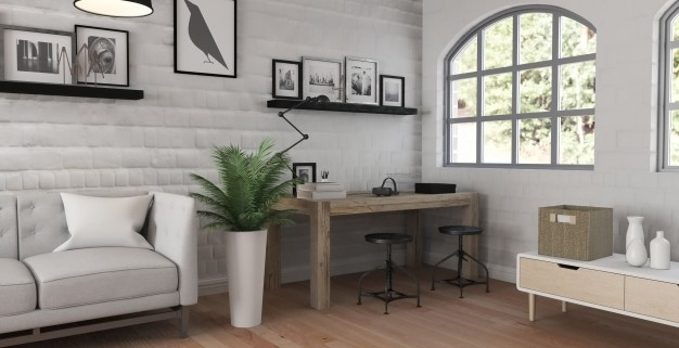 Que beneficios te aporta un buen diseño de interiores a tu salud